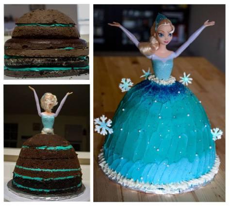 Elsa Cake!